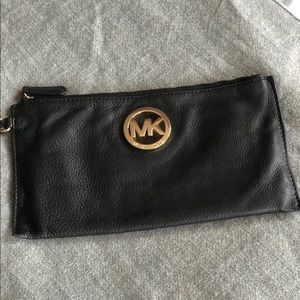 2/$45 Michael KORS black clutch